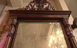 Как дать зеркалу новую жизнь? Ремонт зеркал Как восстановить зеркало в домашних условиях