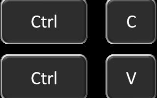 Перестали работать операции копирования вставки по Ctrl+C и Ctrl+V