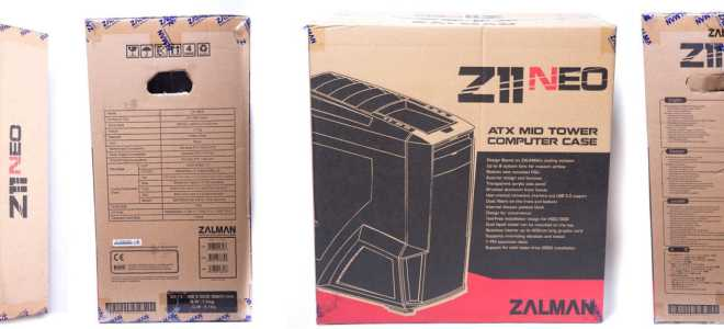 Подробный обзор корпуса Zalman Z11 Plus. Обзор и тестирование корпуса Zalman Z11 Neo Zalman z11 черный