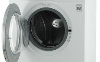 Стиральная машина lg 6 кг инструкция. Обзор стиральной машины LG Inverter Direct Drive