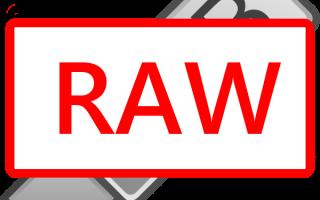 Файловая система флешки RAW
