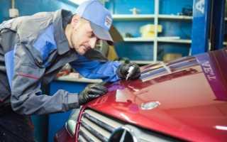 Ремонт сколов лакокрасочного покрытия на кузове автомобиля своими руками — устранение локальных дефектов