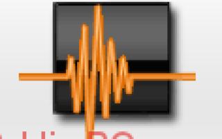 Wave Editor — простой и легкий аудиоредактор