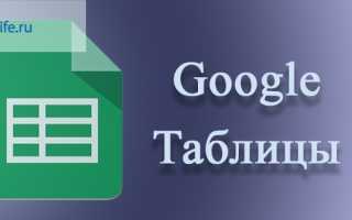 Google таблицы онлайн – создание, редактирование, возможности: пошаговые инструкции