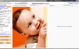 Программы для создания схем картины по номерам. Раскраска