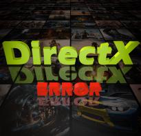 Directx сбой установки что делать?