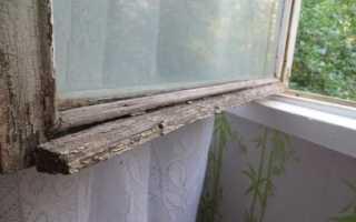 Ремонт старых деревянных оконных рам своими руками: от проекта до покраски