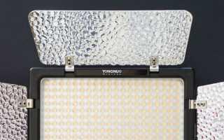 Точечные светодиодные источники света для фотосъемки. Накамерный свет для съемки видео