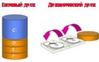 Основной и логический разделы жесткого диска: их суть и преобразование из одного типа в другой