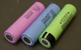 Литий ионные аккумуляторы модели 18650. Защищенные и незащищенные литий-ионные аккумуляторы