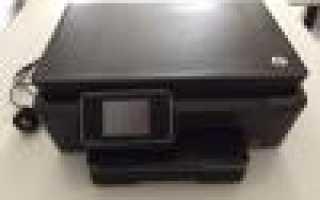 Принтер hp не сканирует что делать?