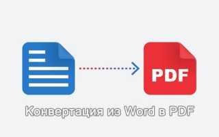 Конвертировать ворд в pdf сохранив оглавление. Как перевести документ из word в pdf используя текстовый редактор