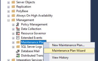 PROИТ: SQL Server Как восстановить базу данных из bak файла бэкапа (restore DB from backup)