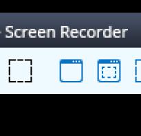 Free Screen Video Recorder для записи видео с экрана и создания скриншотов